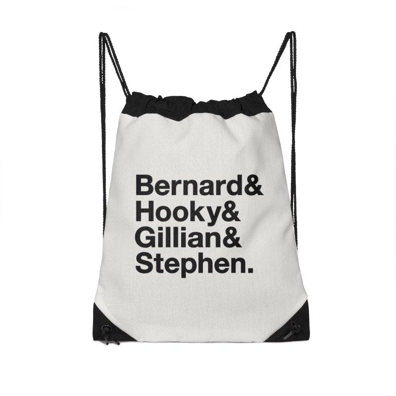 New Order Text Design (black print) Accessories Bag by Modernist Press's Artist Shop