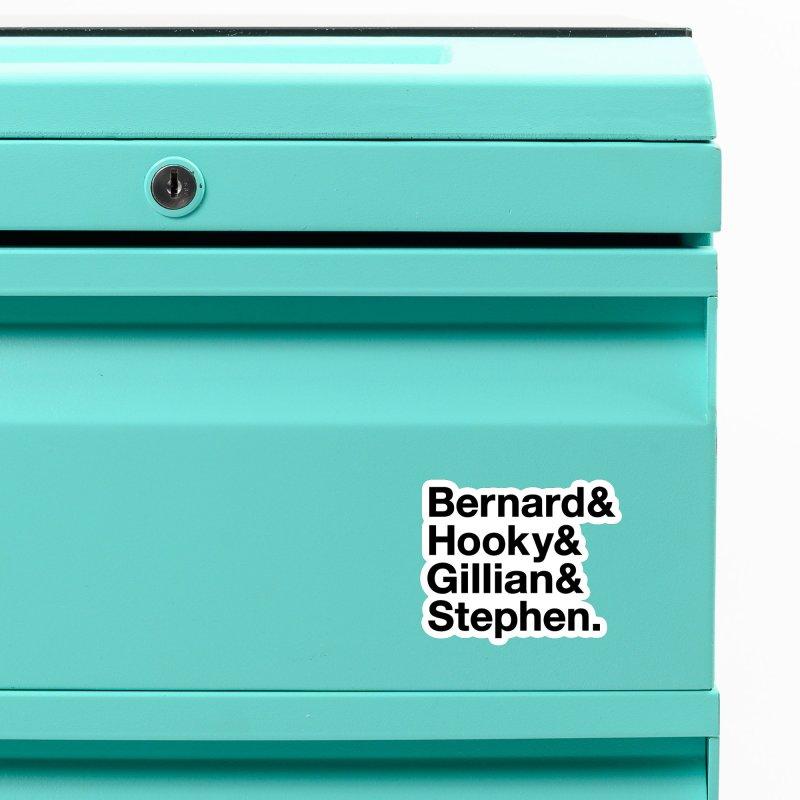 New Order Text Design (black print) Accessories Magnet by Modernist Press's Artist Shop