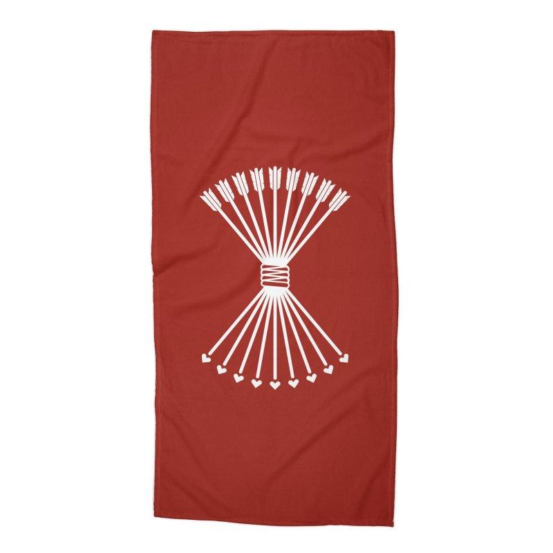 Love Armory Accessories Beach Towel by Modernist Press's Artist Shop