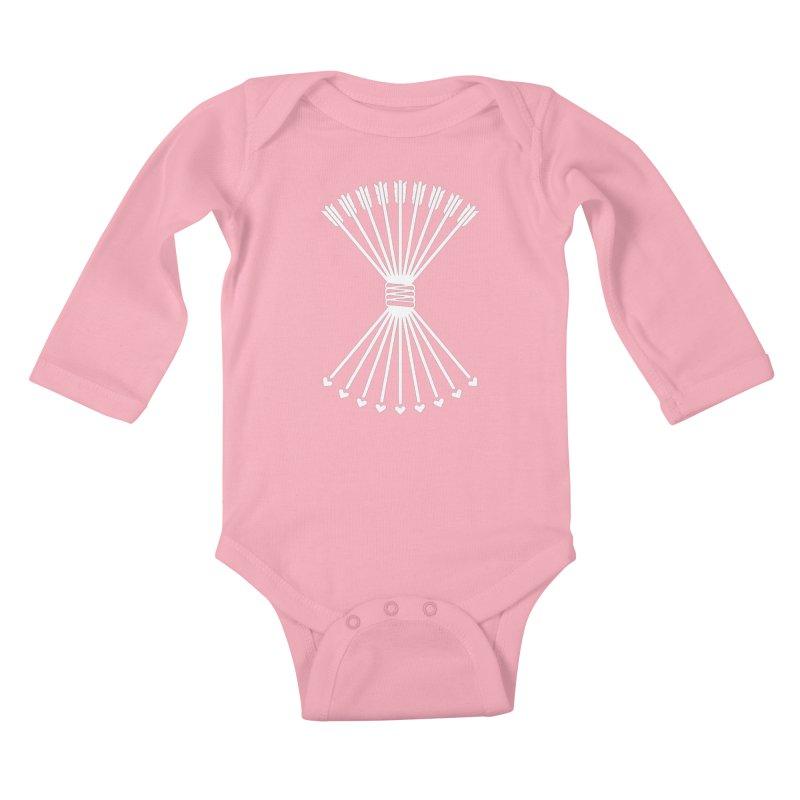 Love Armory Kids Baby Longsleeve Bodysuit by Modernist Press's Artist Shop