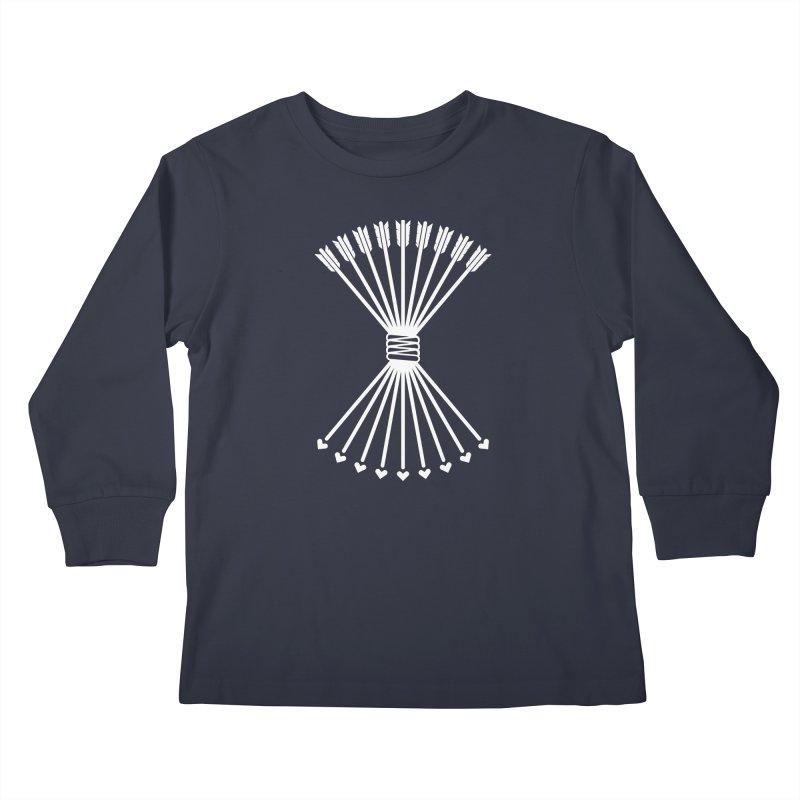 Love Armory Kids Longsleeve T-Shirt by Modernist Press's Artist Shop