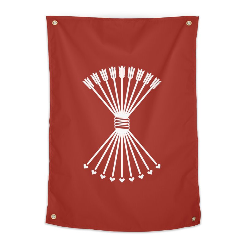 Love Armory Home Tapestry by Modernist Press's Artist Shop