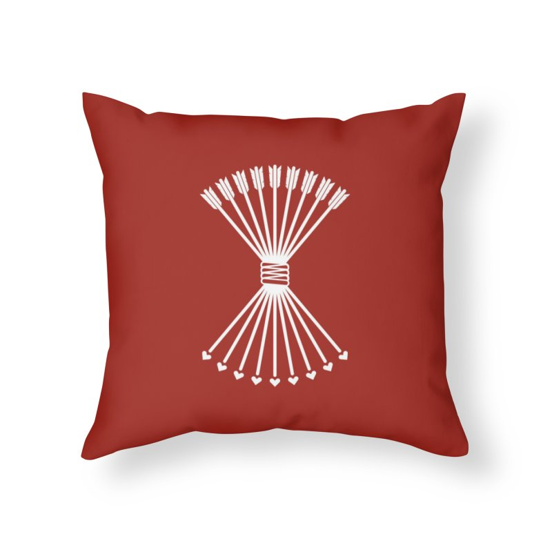 Love Armory Home Throw Pillow by Modernist Press's Artist Shop