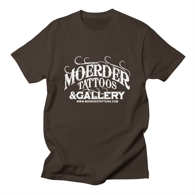 Moerder Tattoos & Gallery Shirt Men's T-Shirt by MoerderTattoosandGallery's Artist Shop