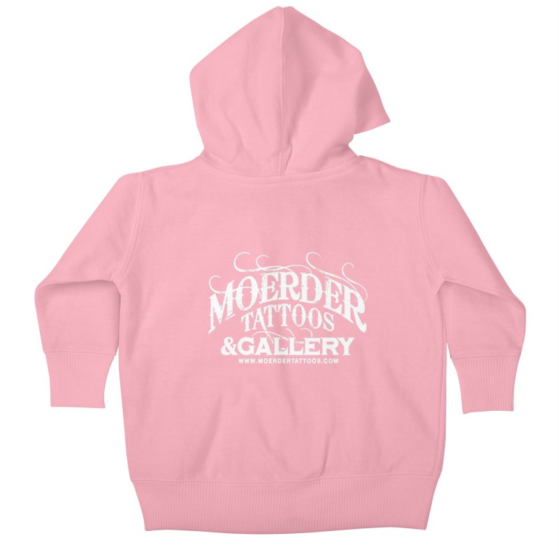 Moerder Tattoos & Gallery Shirt Kids Baby Zip-Up Hoody by MoerderTattoosandGallery's Artist Shop
