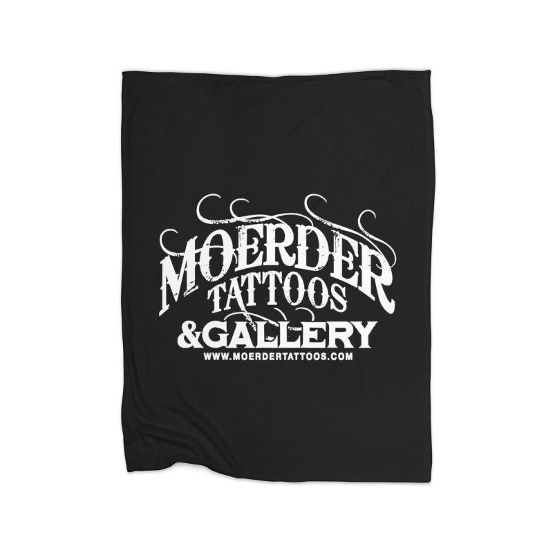 Moerder Tattoos & Gallery Shirt Home Blanket by MoerderTattoosandGallery's Artist Shop