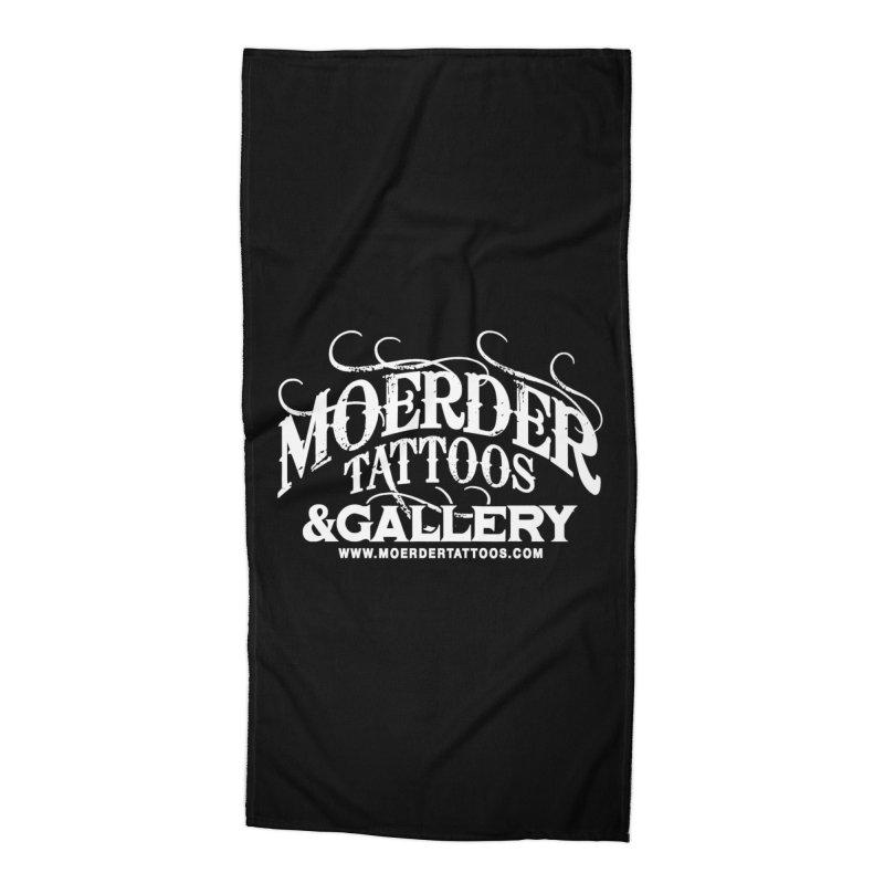 Moerder Tattoos & Gallery Shirt Accessories Beach Towel by MoerderTattoosandGallery's Artist Shop