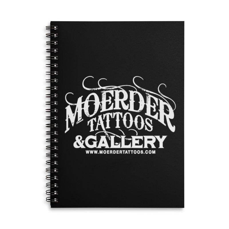 Moerder Tattoos & Gallery Shirt Accessories Notebook by MoerderTattoosandGallery's Artist Shop
