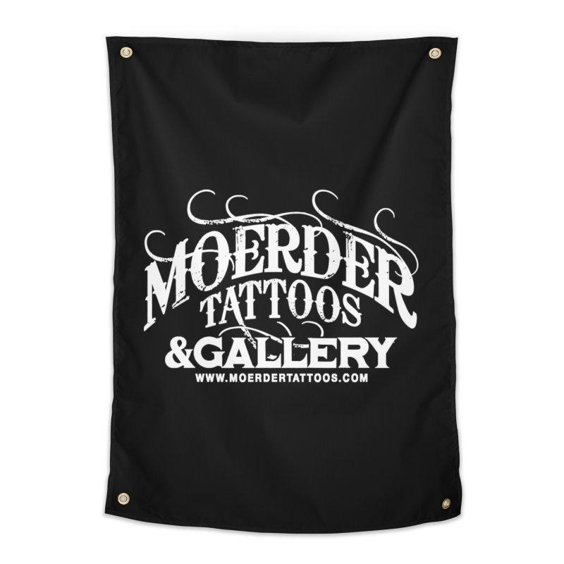 Moerder Tattoos & Gallery Shirt Home Tapestry by MoerderTattoosandGallery's Artist Shop