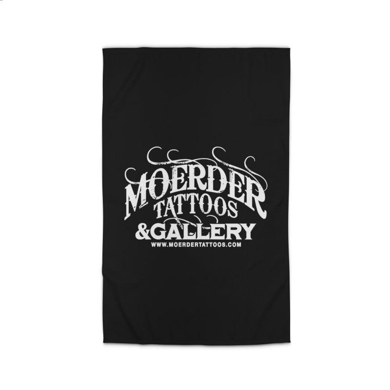 Moerder Tattoos & Gallery Shirt Home Rug by MoerderTattoosandGallery's Artist Shop