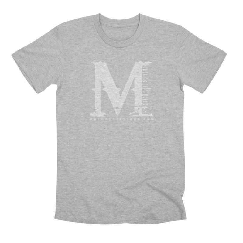 M is for Moerder Men's T-Shirt by MoerderTattoosandGallery's Artist Shop