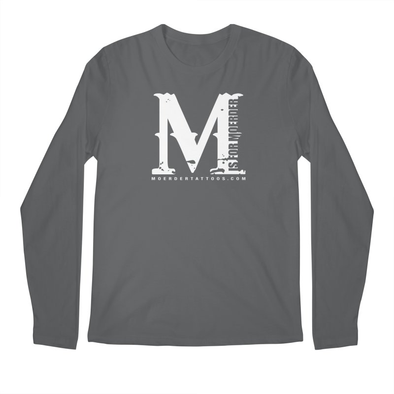 M is for Moerder Men's Longsleeve T-Shirt by MoerderTattoosandGallery's Artist Shop