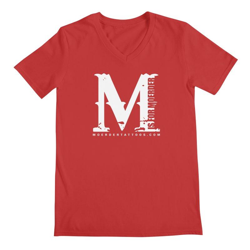 M is for Moerder Men's V-Neck by MoerderTattoosandGallery's Artist Shop