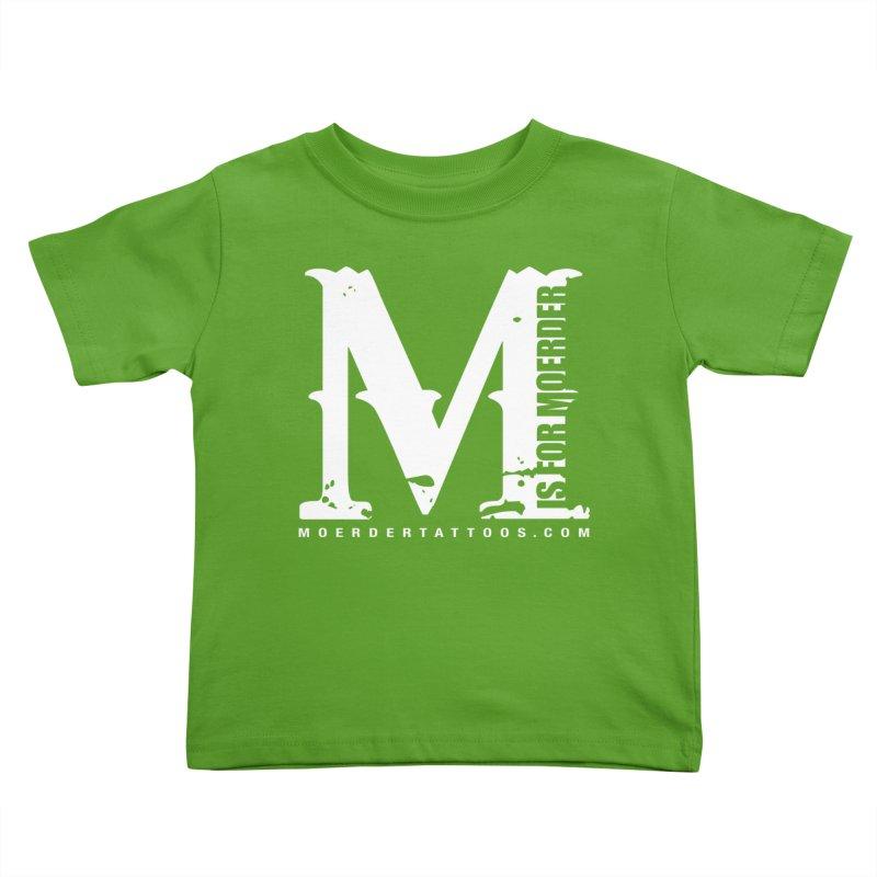 M is for Moerder Kids Toddler T-Shirt by MoerderTattoosandGallery's Artist Shop