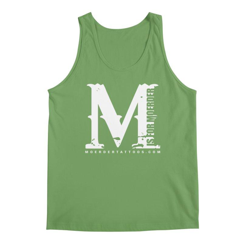 M is for Moerder Men's Tank by MoerderTattoosandGallery's Artist Shop