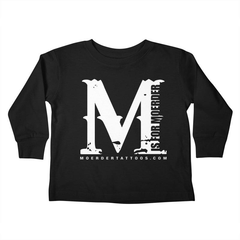 M is for Moerder Kids Toddler Longsleeve T-Shirt by MoerderTattoosandGallery's Artist Shop