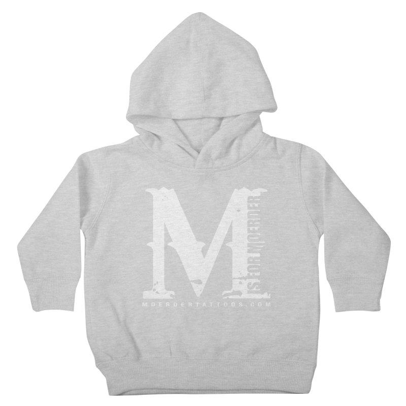 M is for Moerder Kids Toddler Pullover Hoody by MoerderTattoosandGallery's Artist Shop