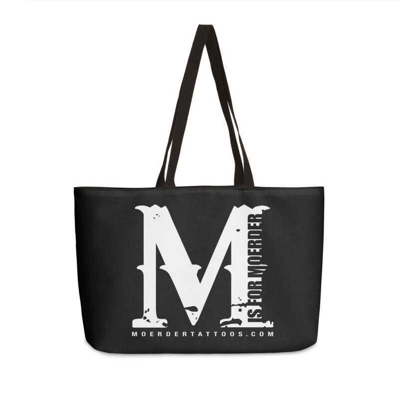 M is for Moerder Accessories Bag by MoerderTattoosandGallery's Artist Shop