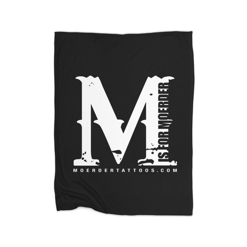 M is for Moerder Home Blanket by MoerderTattoosandGallery's Artist Shop