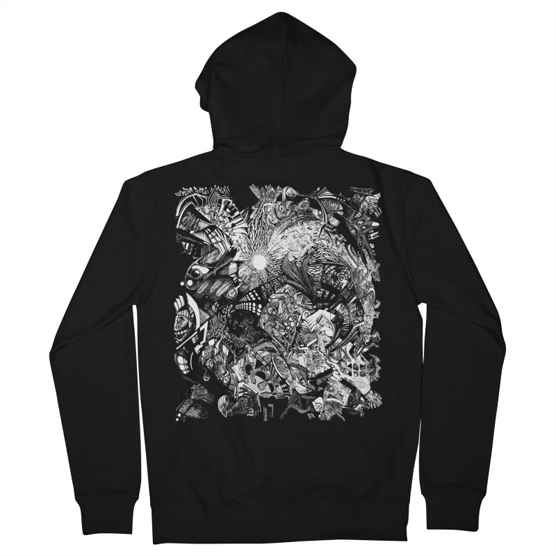 History Men's Zip-Up Hoody by MojtabaDanandeh's Artist Shop