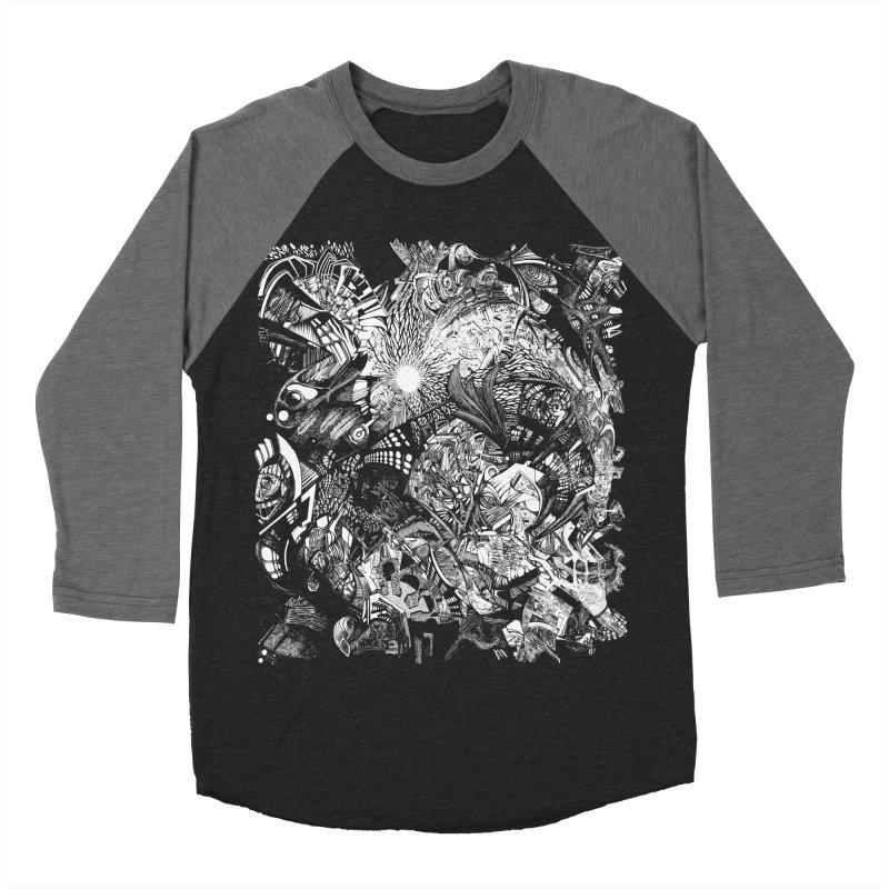 History Men's Baseball Triblend T-Shirt by MojtabaDanandeh's Artist Shop