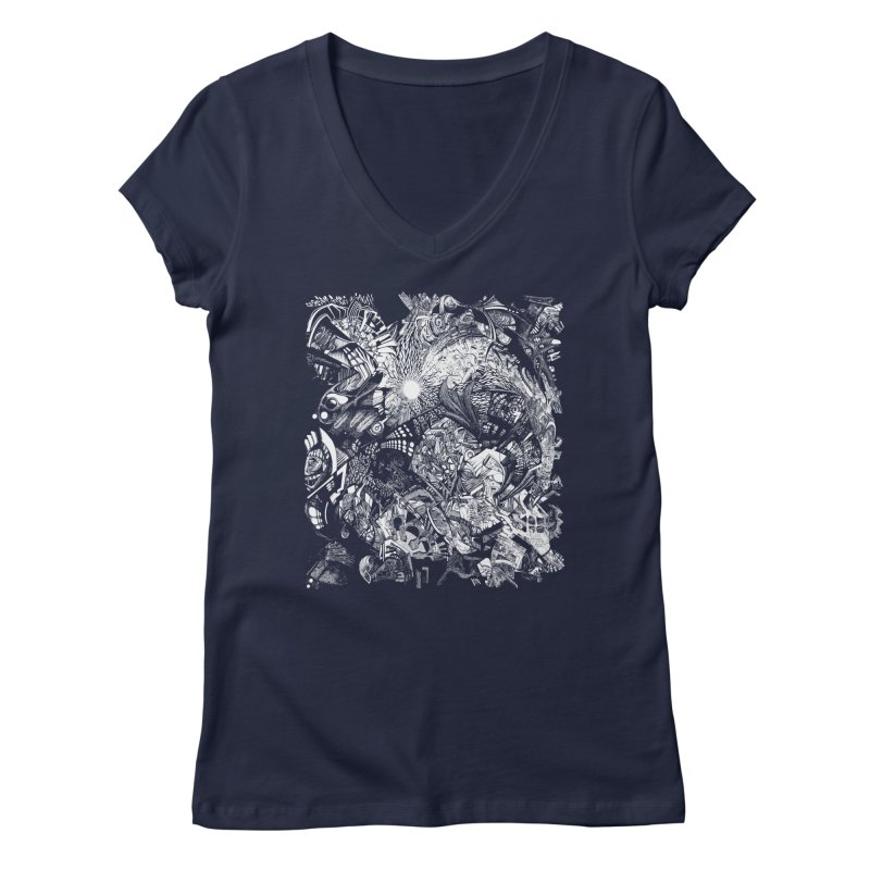 History Women's V-Neck by MojtabaDanandeh's Artist Shop