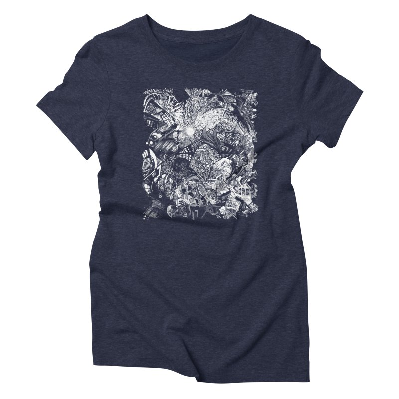 History Women's Triblend T-shirt by MojtabaDanandeh's Artist Shop