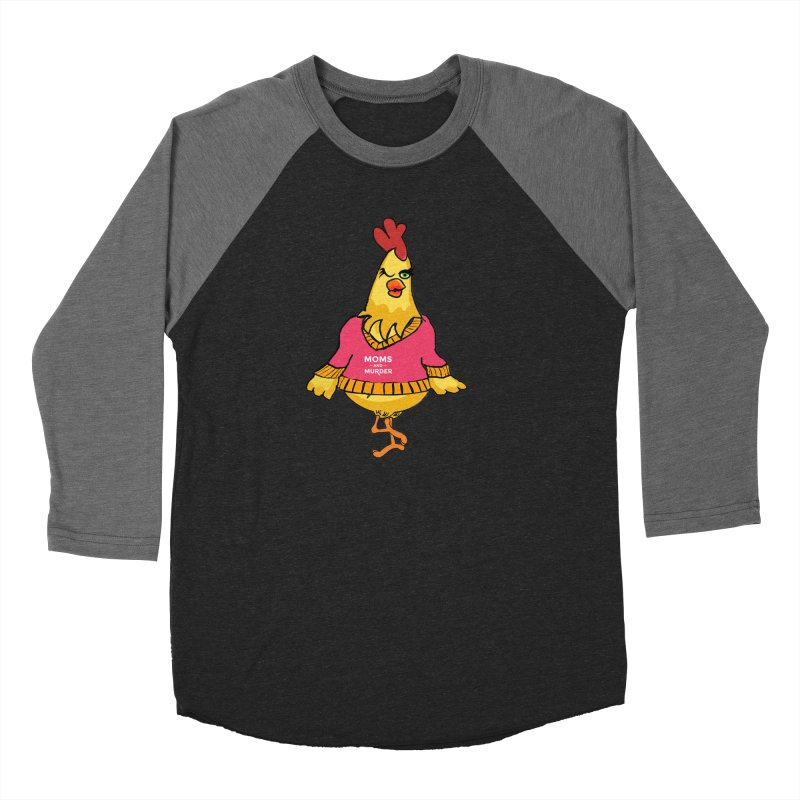 Mrs. Mother Clucker (Design by Notorious Nicki T) Men's Longsleeve T-Shirt by Moms And Murder Merch