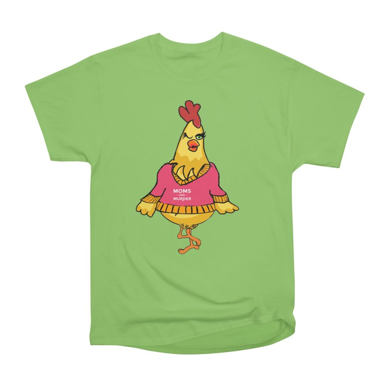 Mrs. Mother Clucker (Design by Notorious Nicki T) Men's Heavyweight T-Shirt by Moms And Murder Merch