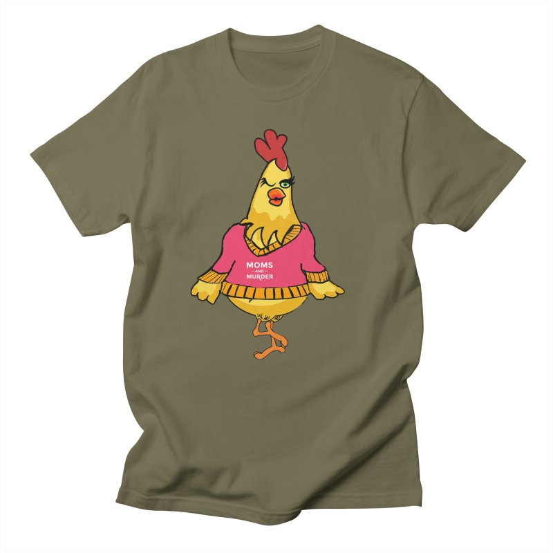 Mrs. Mother Clucker (Design by Notorious Nicki T) Women's Regular Unisex T-Shirt by Moms And Murder Merch