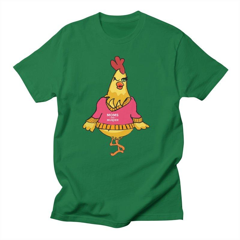 Mrs. Mother Clucker (Design by Notorious Nicki T) Women's Regular Unisex T-Shirt by Moms And Murder Merch