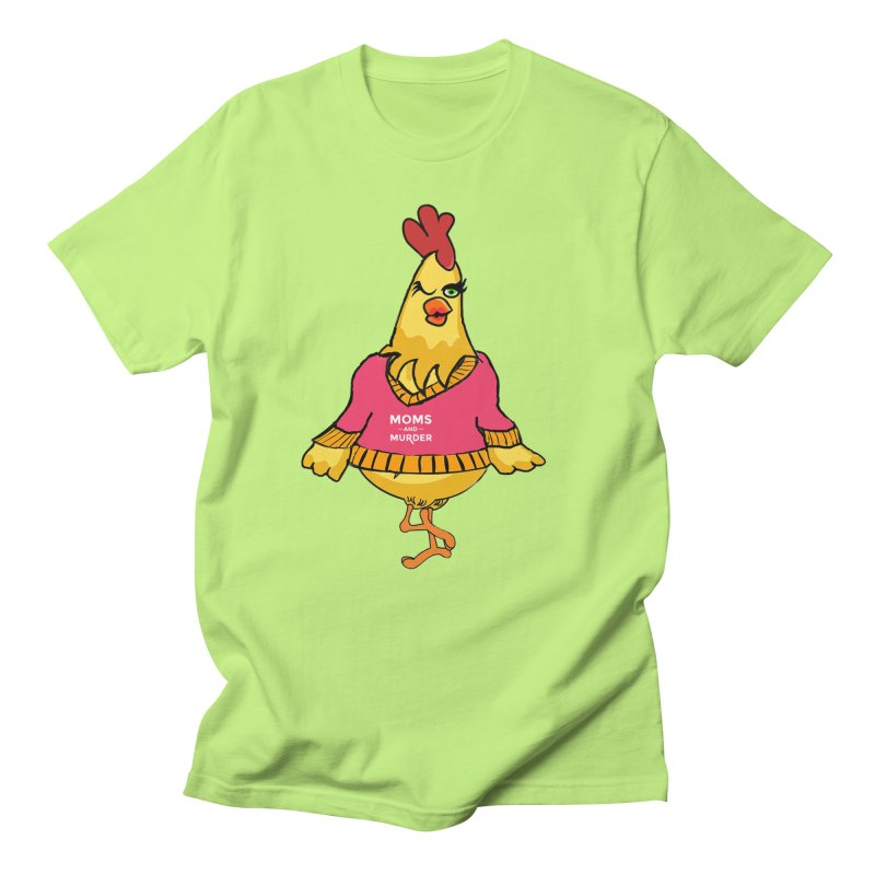 Mrs. Mother Clucker (Design by Notorious Nicki T) Men's Regular T-Shirt by Moms And Murder Merch