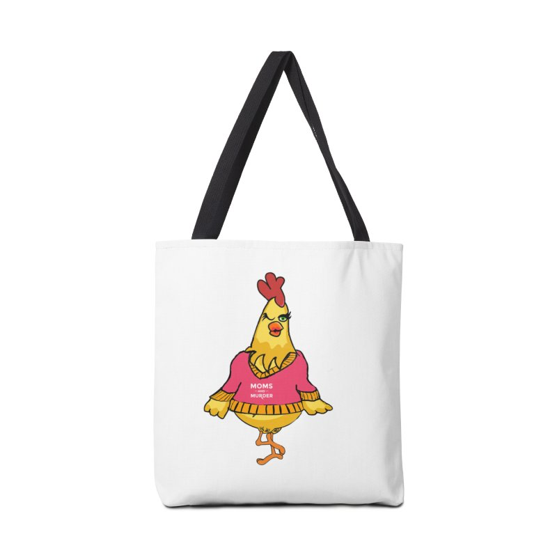 Mrs. Mother Clucker (Design by Notorious Nicki T) Accessories Bag by Moms And Murder Merch