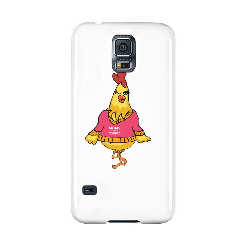Mrs. Mother Clucker (Design by Notorious Nicki T) Accessories Phone Case by Moms And Murder Merch