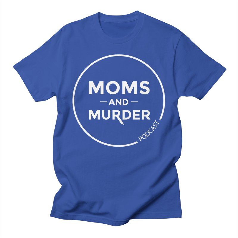 Moms and Murder Podcast Logo in Ring Men's T-Shirt by Moms And Murder Merch