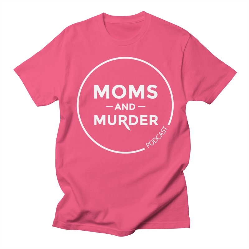 Moms and Murder Podcast Logo in Ring Men's Regular T-Shirt by Moms And Murder Merch