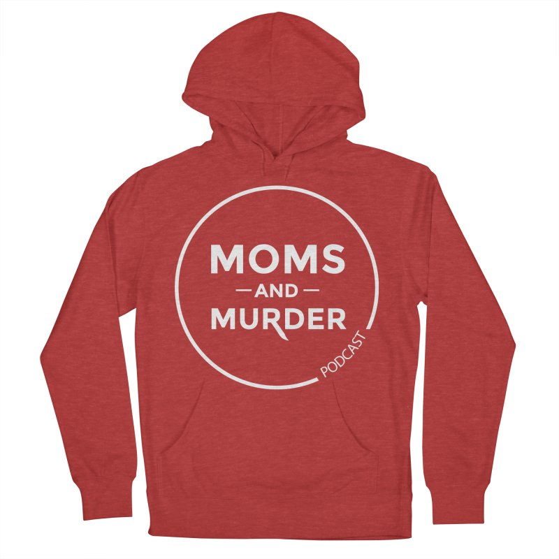 Moms and Murder Logo Ring- Dark Gray Men's French Terry Pullover Hoody by Moms And Murder Merch