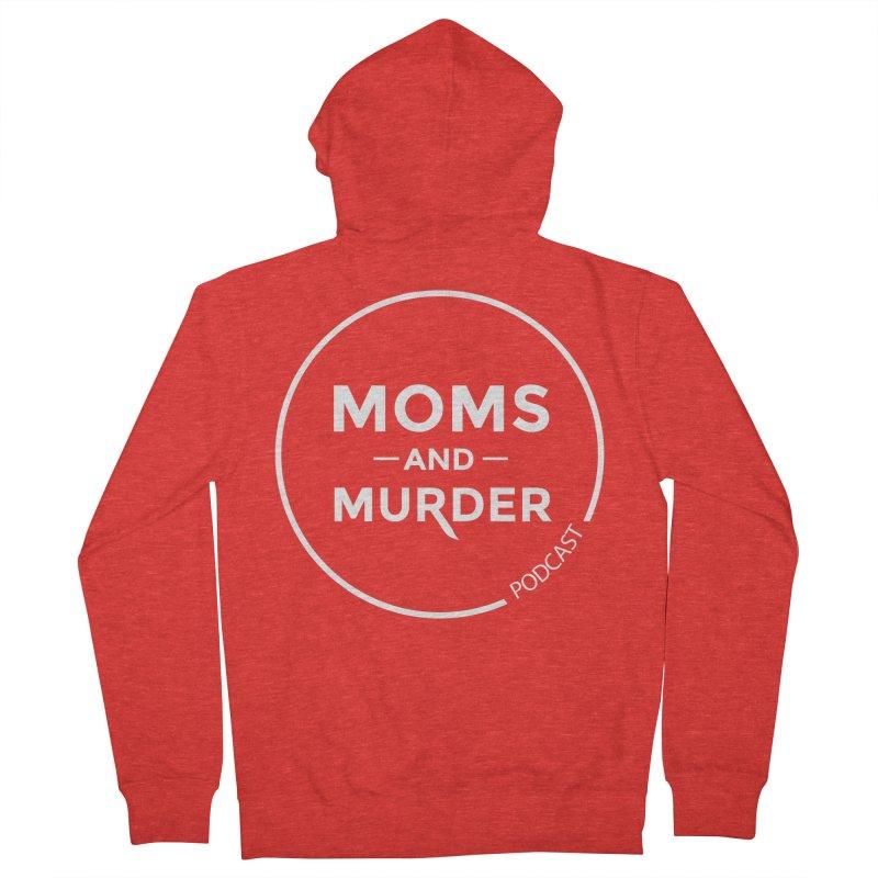 Moms and Murder Logo Ring- Dark Gray Women's Zip-Up Hoody by Moms And Murder Merch