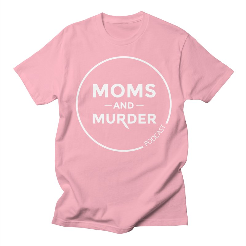 Moms and Murder Logo Ring- Dark Gray Men's Regular T-Shirt by Moms And Murder Merch