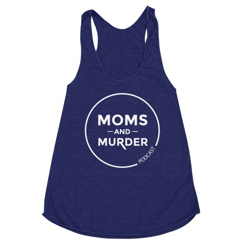 Moms and Murder Logo Ring- Dark Gray Women's Tank by Moms And Murder Merch