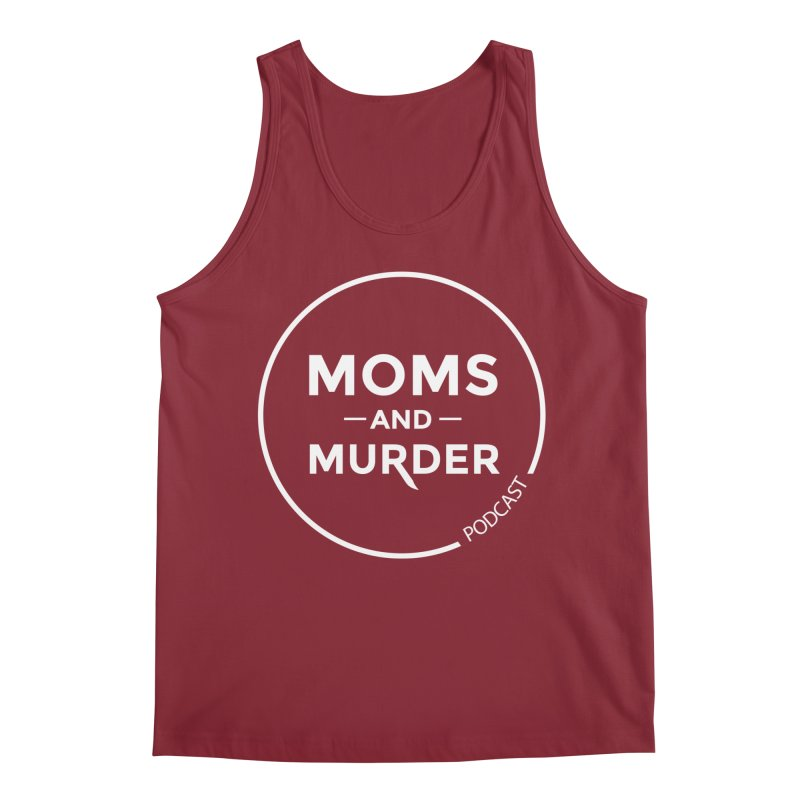 Moms and Murder Logo Ring- Dark Gray Men's Tank by Moms And Murder Merch