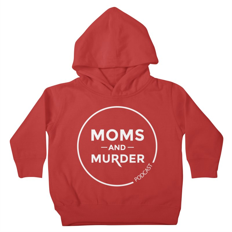 Moms and Murder Logo Ring- Dark Gray Kids Toddler Pullover Hoody by Moms And Murder Merch