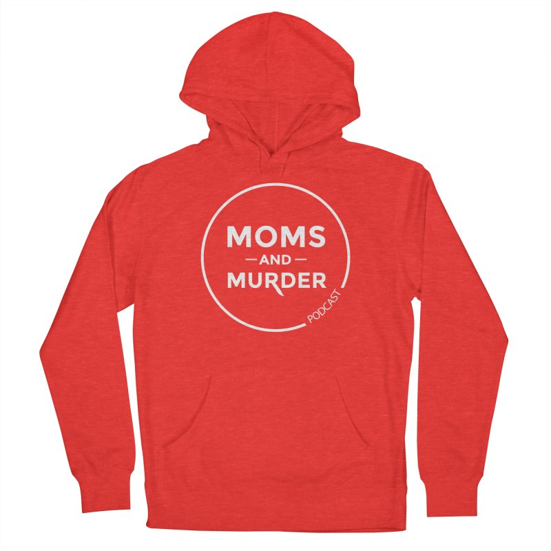 Moms and Murder Logo Ring in Pink Men's Pullover Hoody by Moms And Murder Merch