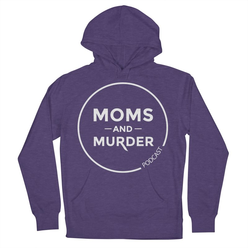 Moms and Murder Logo Ring in Pink Women's French Terry Pullover Hoody by Moms And Murder Merch