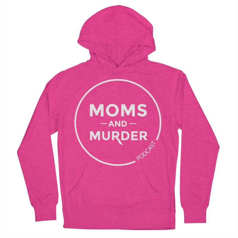 Moms and Murder Logo Ring in Pink Men's French Terry Pullover Hoody by Moms And Murder Merch