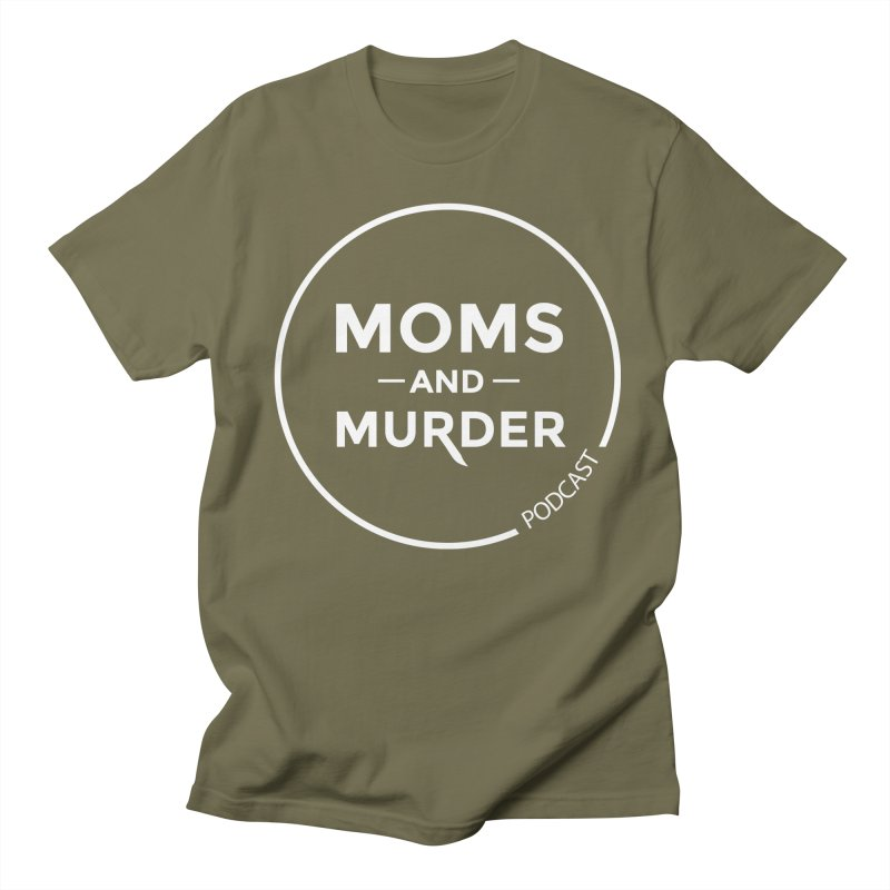 Moms and Murder Logo Ring in Pink Women's Regular Unisex T-Shirt by Moms And Murder Merch