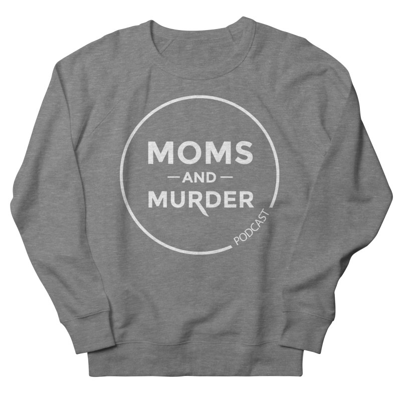 Moms and Murder Logo Ring in Pink Men's French Terry Sweatshirt by Moms And Murder Merch