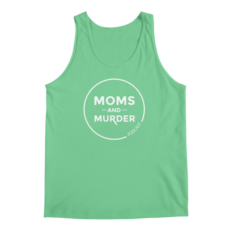 Moms and Murder Logo Ring in Pink Men's Tank by Moms And Murder Merch