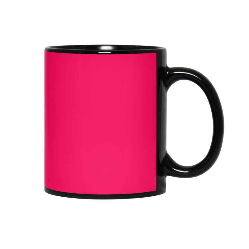 Moms and Murder Logo Ring in Pink Accessories Mug by Moms And Murder Merch