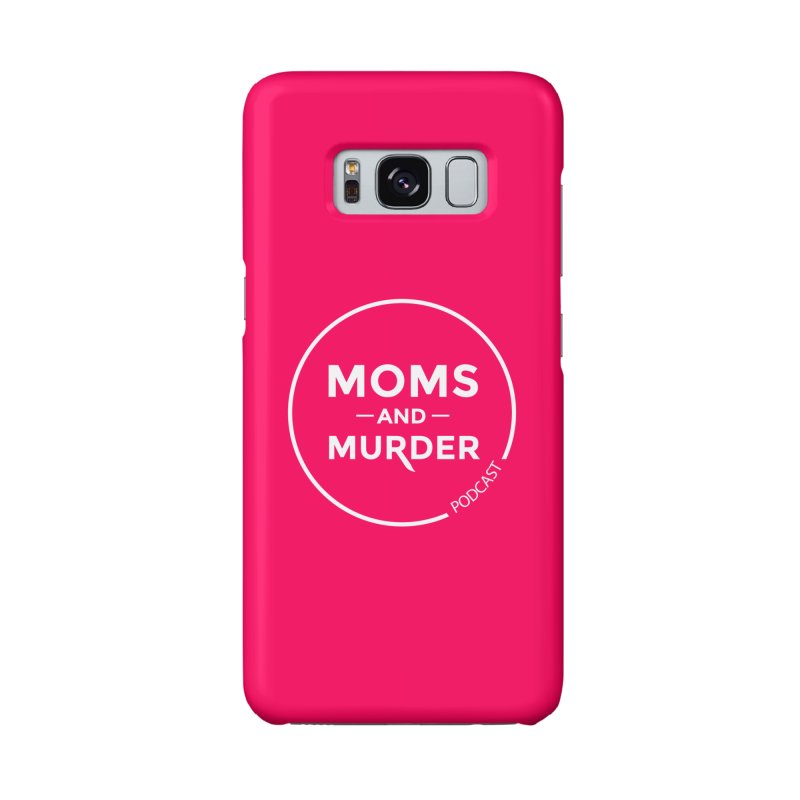 Moms and Murder Logo Ring in Pink Accessories Phone Case by Moms And Murder Merch